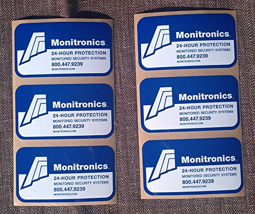 1-AUTHENTIC-MONITRONlCS-Security-Yard-Sign-6-Security-Decal-Stickers-For-Windows-Doors-0-1