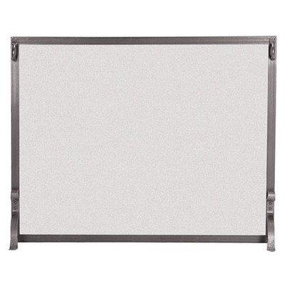 1-Panel-Forged-Iron-Fireplace-Screen-Size-31-H-x-39-W-Finish-Vintage-Iron-0