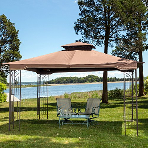 10-x-12-Regency-II-Patio-Gazebo-with-Mosquito-Netting-0-0