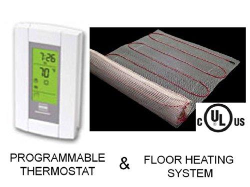 20-Sqft-Mat-Electric-Radiant-Floor-Heat-Heating-System-with-Aube-Digital-Floor-Sensing-Thermostat-0