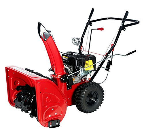 24-inch-196cc-Two-Stage-Gasoline-Engine-Snow-BlowerThrower-0-0
