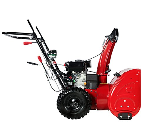 24-inch-196cc-Two-Stage-Gasoline-Engine-Snow-BlowerThrower-0-1