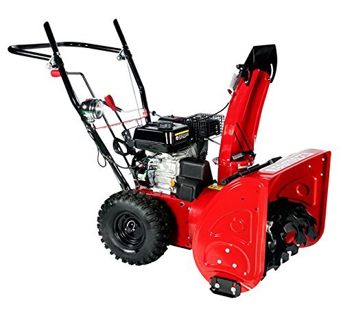 24-inch-196cc-Two-Stage-Gasoline-Engine-Snow-BlowerThrower-0