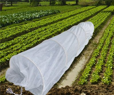 45FT-Long-Agfabric-Grow-Tunnel-kit-055oz-Floating-row-coverTunnel-Hoops-0