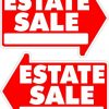 5-PACK-Estate-Sale-Yard-Sign-Arrow-Shaped-With-Metal-Frame-0-0