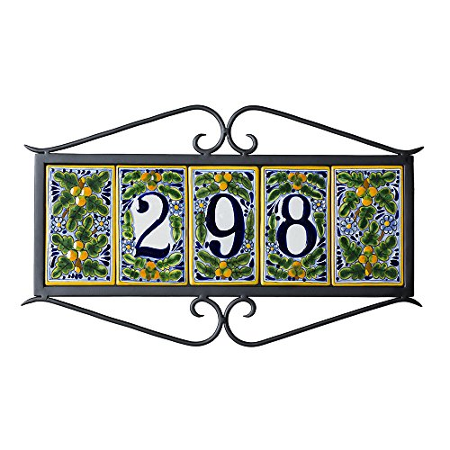 5-tile-Classic-House-Address-Number-Plaque-0