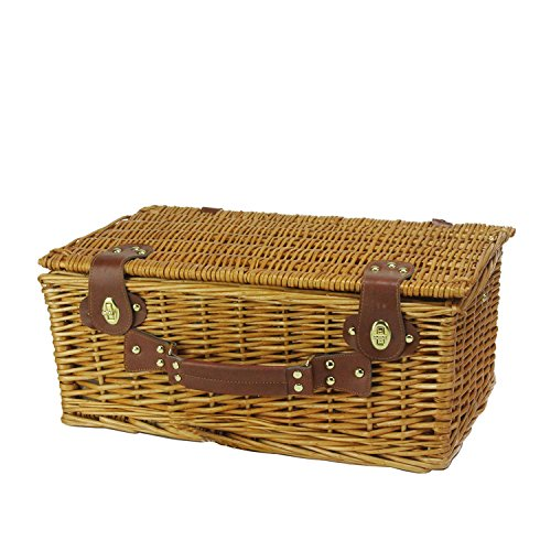 6-Person-Hand-Woven-Honey-Willow-and-Striped-Picnic-Basket-Set-with-Accessories-0-0