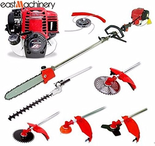 6-in-1-Gasoline-Multi-Garden-Tools-Brush-Cutter-Chainsaw-Hedge-Trimmer-Honda-Engine-GX35-0