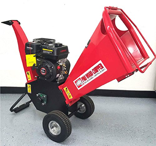 65HP-196cc-Gas-Powered-Wood-Chipper-Shredder-Yard-Machine-Mulcher-with-4-Capacity-0