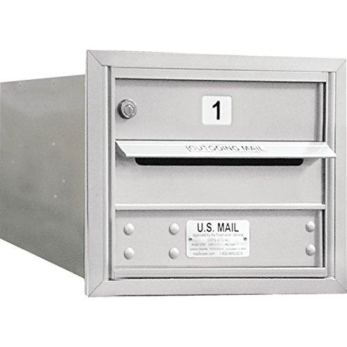 692797-Horizontal-4C-Mailbox-1-Door-Silver-3-Door-High-0