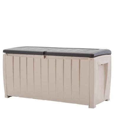 90-Gal-Deck-Box-in-Brown-Novel-Durable-Weatherproof-Resin-Construction-Keeps-Contents-Dry-0
