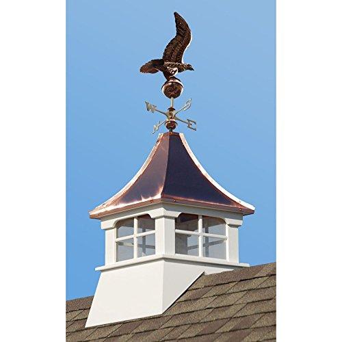 Accentua-Charleston-Cupola-with-Eagle-Weathervane-0