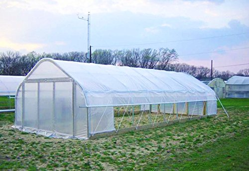 Agfabric-12ft-x-25ftGreenhouse-Clear-Plastic-Film-Polyethylene-CoveringDIY-Gardening-Film55mil-0-1