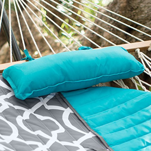 Algoma-11-ft-Cotton-Rope-Hammock-with-Metal-Stand-Deluxe-Set-0-0