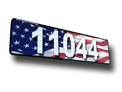 American-Flag-Curb-Address-Plaque-Reflective-0-1