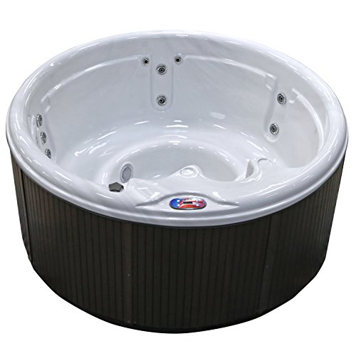 American-Spas-AM-511RM-5-Person-11-Jet-Round-Spa-with-Multi-Color-Spa-Light-0-0