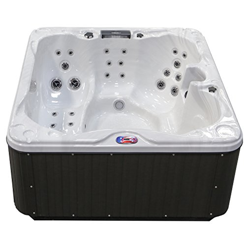 American-Spas-AM-630LM-5-Person-30-Jet-Lounger-Spa-with-Backlit-LED-Waterfall-0-0