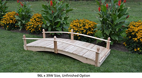 Amish-Made-Weight-Bearing-Cedar-Acorn-Garden-Bridges-0-0