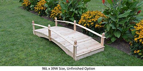 Amish-Made-Weight-Bearing-Cedar-Acorn-Garden-Bridges-0