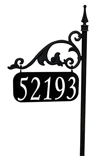 Annandale-Double-Sided-Reflective-Address-Sign-30-Help-911-Delivery-Driver-Easy-To-Read-Day-And-Night-0