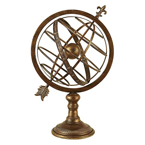 Aspire-Home-Accents-25H-in-Antique-Brass-Armillary-Sphere-0