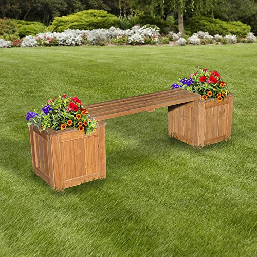 Backyard-Discovery-All-Cedar-Patio-Bench-with-Planters-0-0