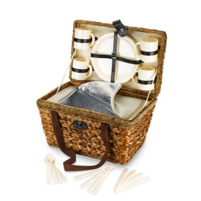 Bamboo-21-Piece-Insulated-Picnic-Basket-0