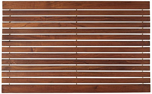 Bare-Decor-Cosi-String-Spa-Shower-Mat-in-Solid-Teak-Wood-Oiled-Finish-315-by-20-Inch-0