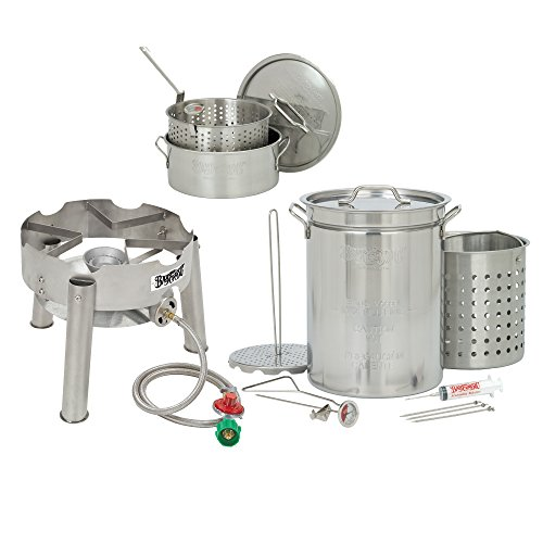 Bayou-Classic-32-Quart-Complete-Stainless-Steel-Deluxe-Turkey-Fryer-Kit-With-10-Quart-Fry-Pot-0
