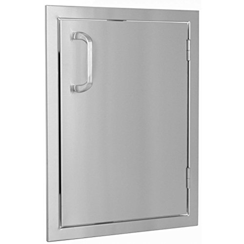 Bbqguyscom-Kingston-Series-14-inch-Stainless-Steel-Right-hinged-Single-Access-Door-Vertical-0-0
