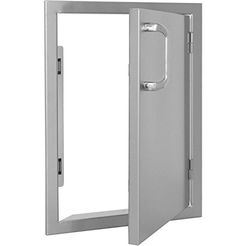 Bbqguyscom-Kingston-Series-14-inch-Stainless-Steel-Right-hinged-Single-Access-Door-Vertical-0-1