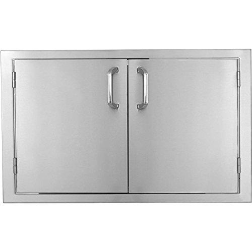 Bbqguyscom-Kingston-Series-30-inch-Stainless-Steel-Double-Access-Door-0