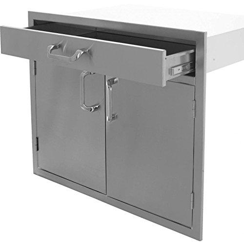 Bbqguyscom-Kingston-Series-30-inch-Stainless-Steel-Double-Door-Single-Drawer-Combo-0-0
