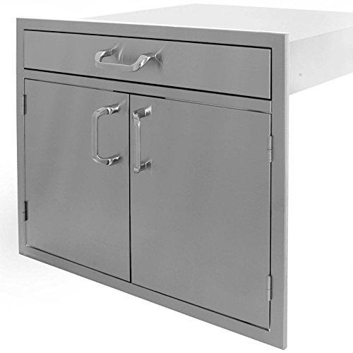Bbqguyscom-Kingston-Series-30-inch-Stainless-Steel-Double-Door-Single-Drawer-Combo-0-1