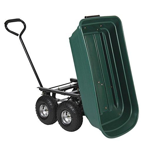 Best-Choice-Products-650LB-Garden-Dump-Cart-Wheelbarrel-Wagon-Carrier-Air-Tires-Heavy-Duty-0-1