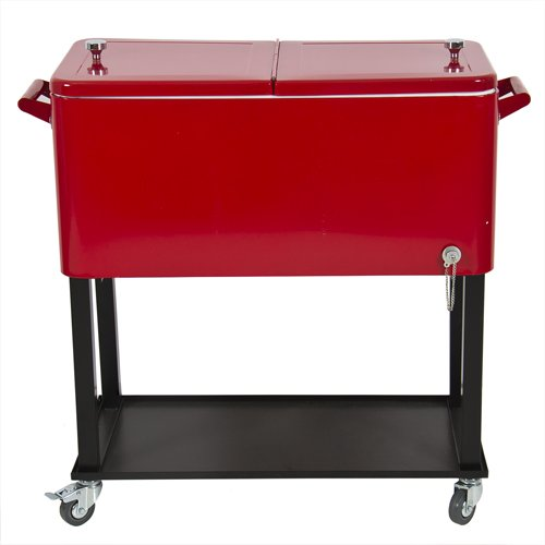 Best-Choice-Products-Patio-Deck-Cooler-Rolling-Outdoor-80-Quart-Solid-Steel-Construction-Home-Party-0-0