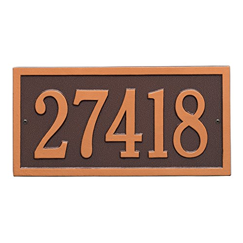 Bismark-Address-Plaque-15-Lx7H-1-Line-0