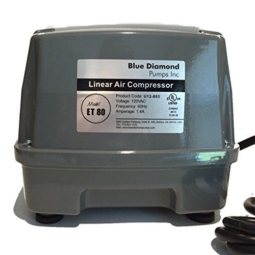 Blue-Diamond-ET-80-Septic-or-Pond-Linear-Diaphragm-Air-Pump-0