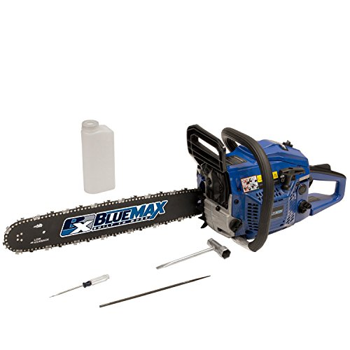 Blue-Max-6595-18-Inch-45cc-2-Stroke-Gas-Powered-Chain-Saw-0