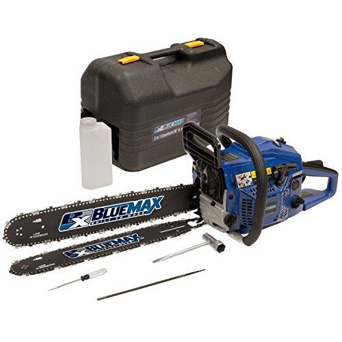 Blue-Max-8902-14-Inch-45cc-2-Stroke-Gas-Powered-Chain-Saw-With-Free-20-Inch-Bar-0