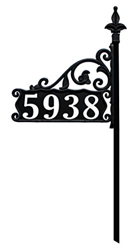 Boardwalk-Reflective-911-Home-Address-Sign-for-Yard-Custom-Made-Address-Plaque-Wrought-Iron-Look-Exclusively-By-Address-America-0-0