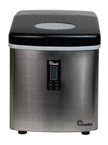 CHARD-IM-12SS-Ice-Maker-with-Stainless-Steel-Finish-Lcs-Display-Ice-35-Pound-0-0