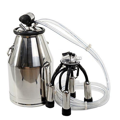 CO-Z-Portable-Bucket-Milker-Milking-Machine-for-Cows-25L-304-Stainless-Steel-0