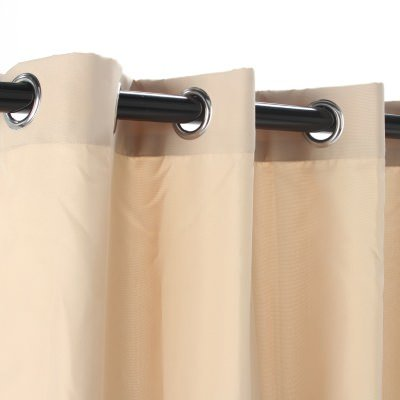 Castaway-Hammocks-Khaki-Polyester-Grommeted-Outdoor-Curtain-50-x-96-0-0