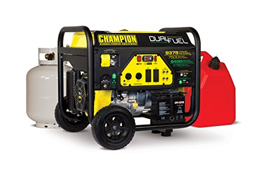 Champion-Power-Equipment-100165-7500-Watt-Dual-Fuel-Portable-Generator-with-Electric-Start-0-0