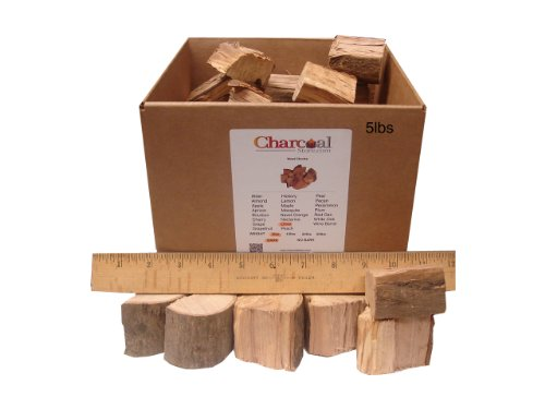 CharcoalStore-Olive-Wood-Smoking-Chunks-Bark-20-Pounds-0