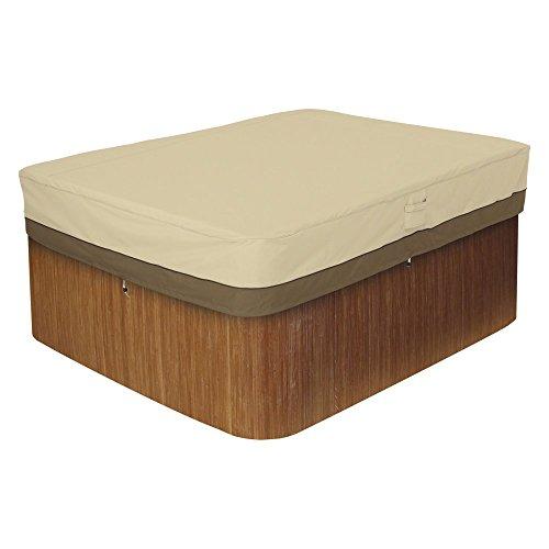 Classic-Accessories-Veranda-Rectangular-Hot-Tub-Cover-0
