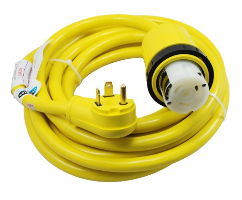 Conntek-14435-25-Foot-RV-Power-Cord-RV-30-Amp-Male-Plug-To-50-Amp-125250-Volt-Locking-Female-Connector-0
