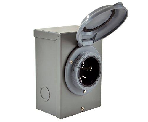 Conntek-ISI-80SS2-GYBX-Temporary-Generator-Transfer-Switch-Power-Inlet-Box-50-Amp-0