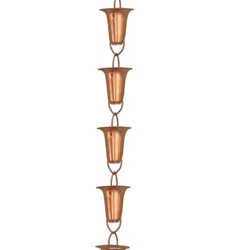 Copper-Funnel-Rain-Chain-85-Foot-0-0